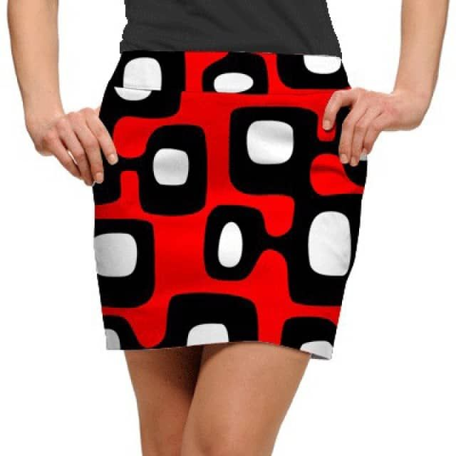 806300d1c Woodworth Collection Particle Accelerator Womens Golfing Skorts by  Loudmouth GolfThe Woodworth Golf Collection is Loudmouth's line