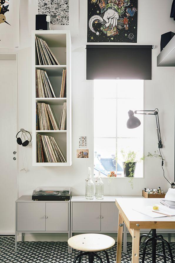 Klein wonen in een studio: veel opbergruimte is belangrijk | IKEA ...