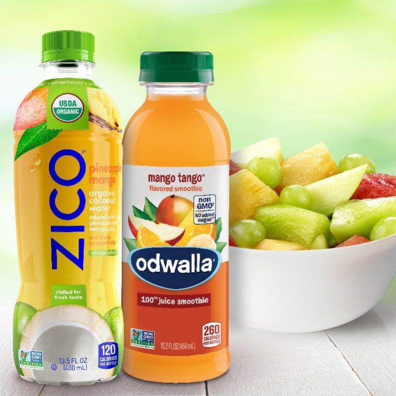Safeway Savings on Zico & Odwalla Drinks! Fresh fruit