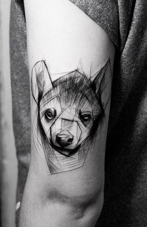 kamil mokot hyena tattoo tattoos and piercings pinterest hyena tattoo and tatting. Black Bedroom Furniture Sets. Home Design Ideas