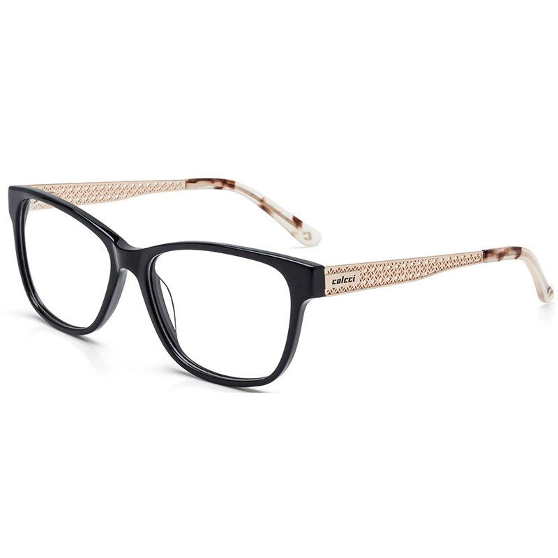 Oculos Colcci C6064 Preto Com Dourado E Demi Rose Feminino
