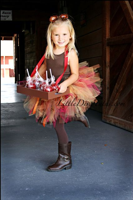 Another view of our Fall Harvest Moon Tutu! www.littledivatutus.com