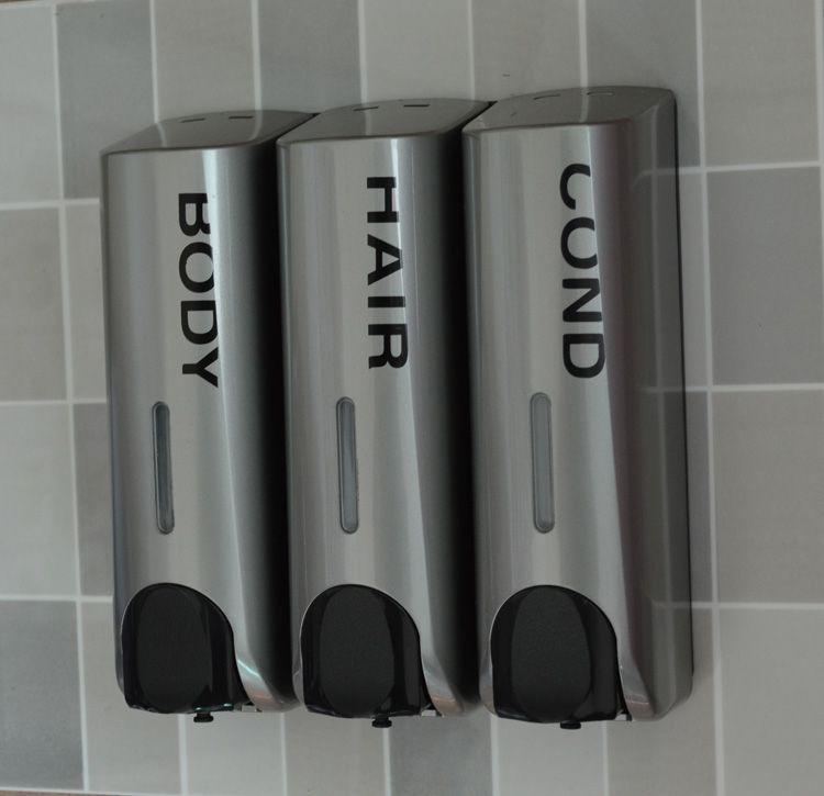 Aliexpress Com Buy Quality Silver Soap Dispenser Wall Mounted Shampoo Shower Gel Bottle Soap Bo Shampoo Dispenser Soap Dispenser Wall Bathroom Soap Dispenser