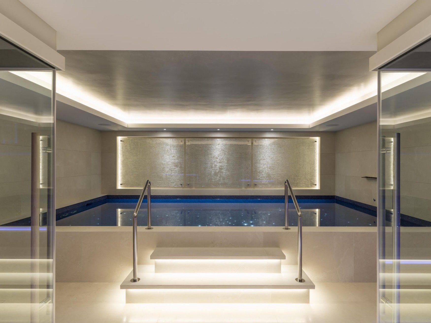 Lower Basement Swimming Pool In Kensington Mansion Mansiones