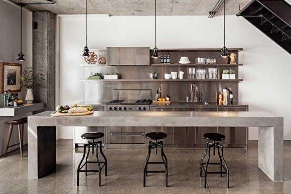 Dit zijn onze favoriete keukentrends van industrial home