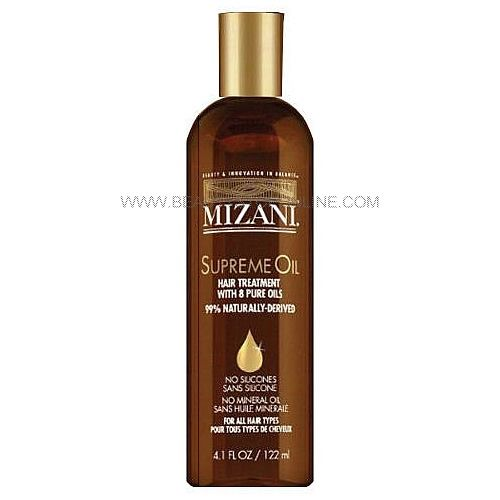 Mizani Supreme Oil Silicone Mineral Oil Free 4 Oz Beauty Stop Online Oil Treatment For Hair Hair Oil Best Hair Oil