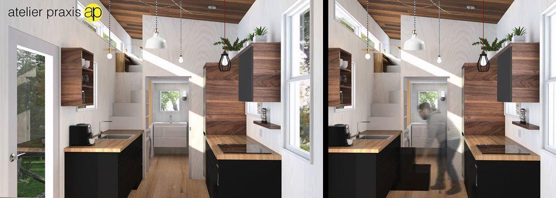The kitchen   Tiny House // Atelier Praxis