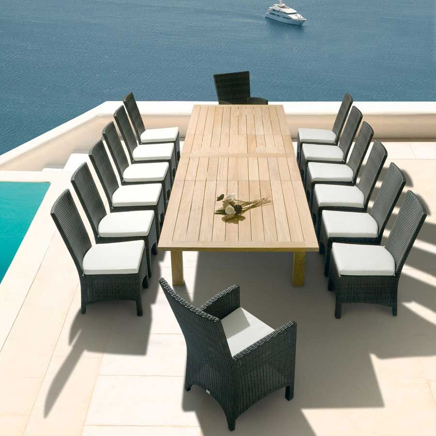 barlow tyrie windsor  extending dining table  barlow tyrie  - find this pin and more on barlow tyrie outdoor furniture
