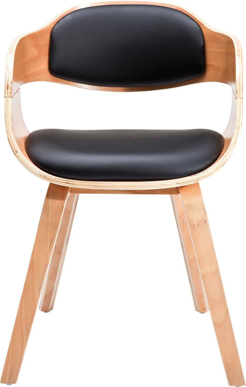 Esstischstuhl Küchentisch Stuhl Stühle mit Armlehne Costa Beech NEU ...