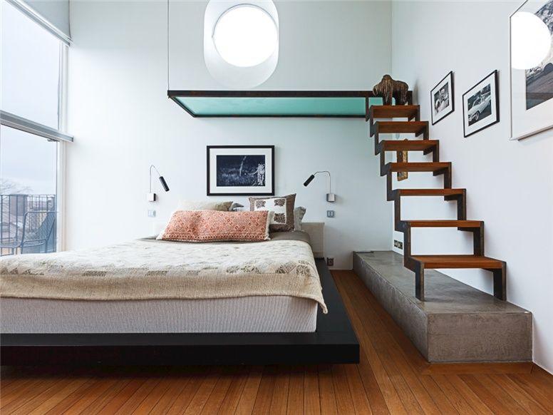 Loft bed home color thuis interieur and architectuur