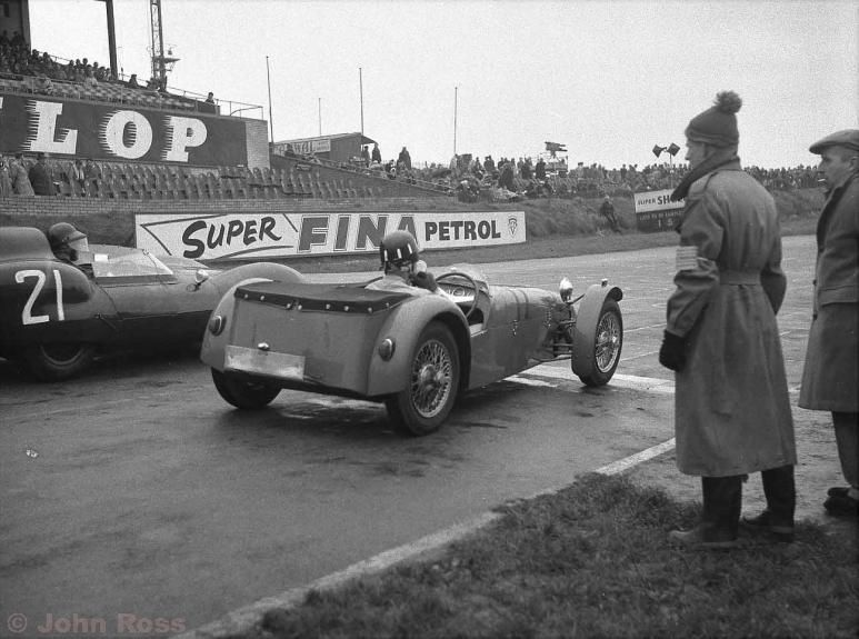 Brands Hatch Boxing Day 1958 Graham Hill Lotus Seven S1