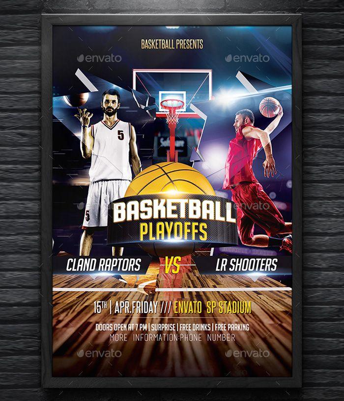 print-ready-basketball-flyer Flyer Templates Pinterest Psd - basketball flyer example