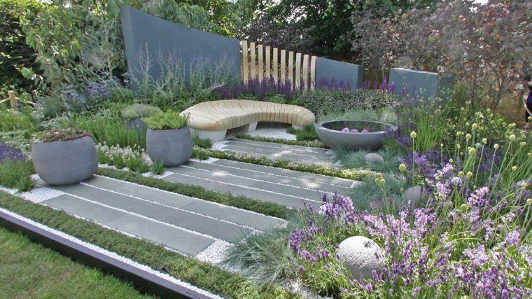 Comment aménager son jardin paysager moderne | Jardin paysager ...