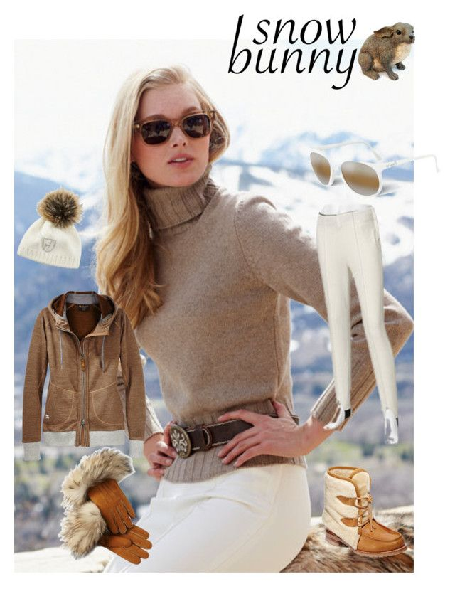 """""""Soft as a Snow Bunny"""" by paroliro ❤ liked on Polyvore featuring mode, Brunello Cucinelli, Hearts Attic et gorsuch"""