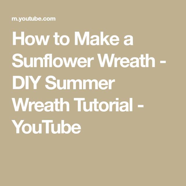 Photo of How to make a sunflower wreath – DIY summer wreath tutorial