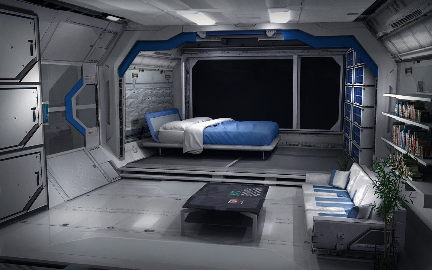 Ue4 scifi deck polycount forum man cave ideas for Sci fi decor