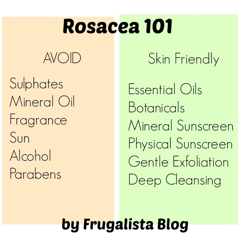 My Skin Care 101 Surviving Rosacea Tips You Need To Know If You Have