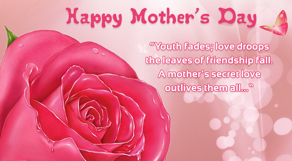 Happy Mother Day Quote From His Son Cute Love Quotes For