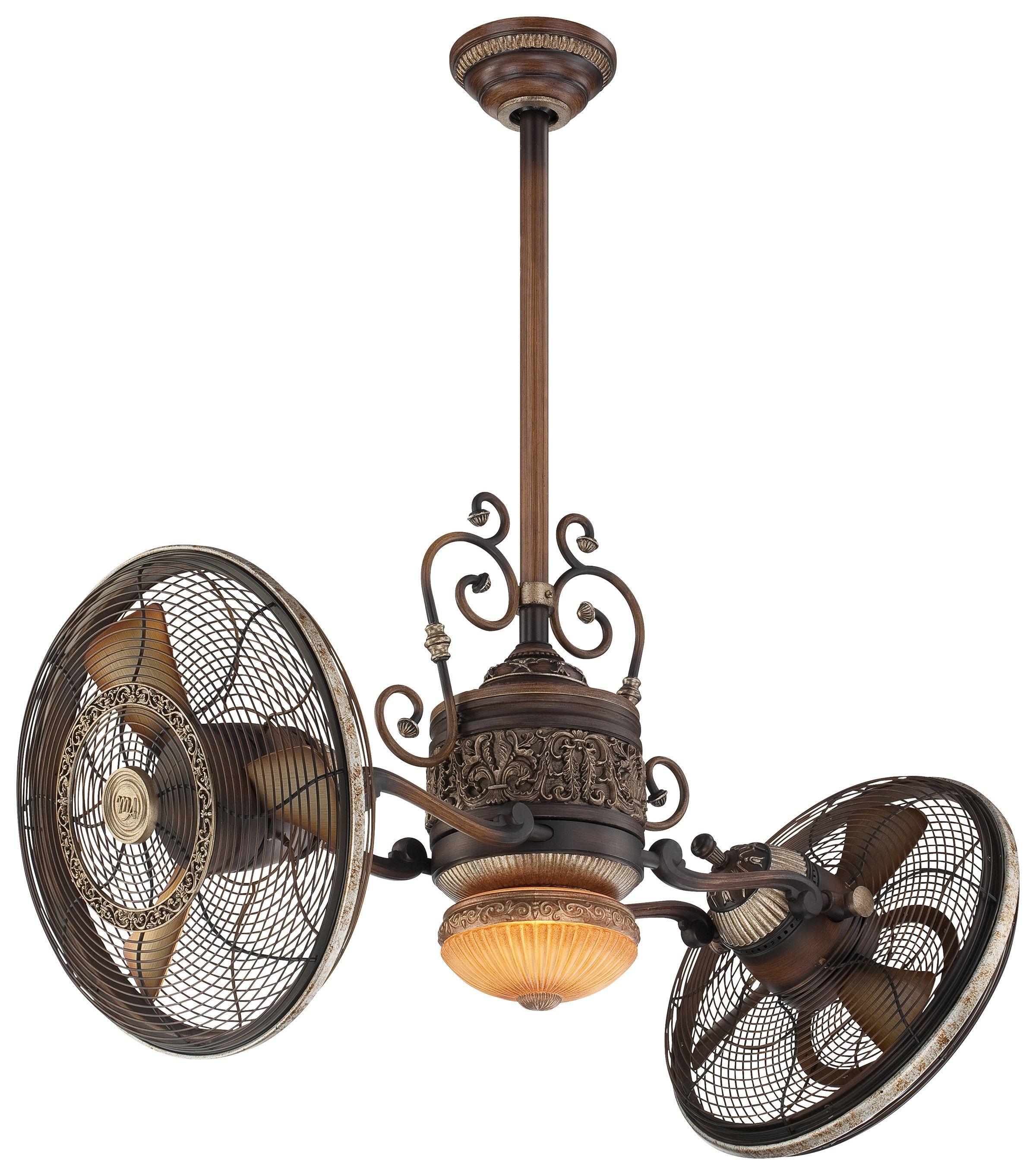 42 Ceiling Fan Three Fan Speeds Forward Reverse & Light Dimmer
