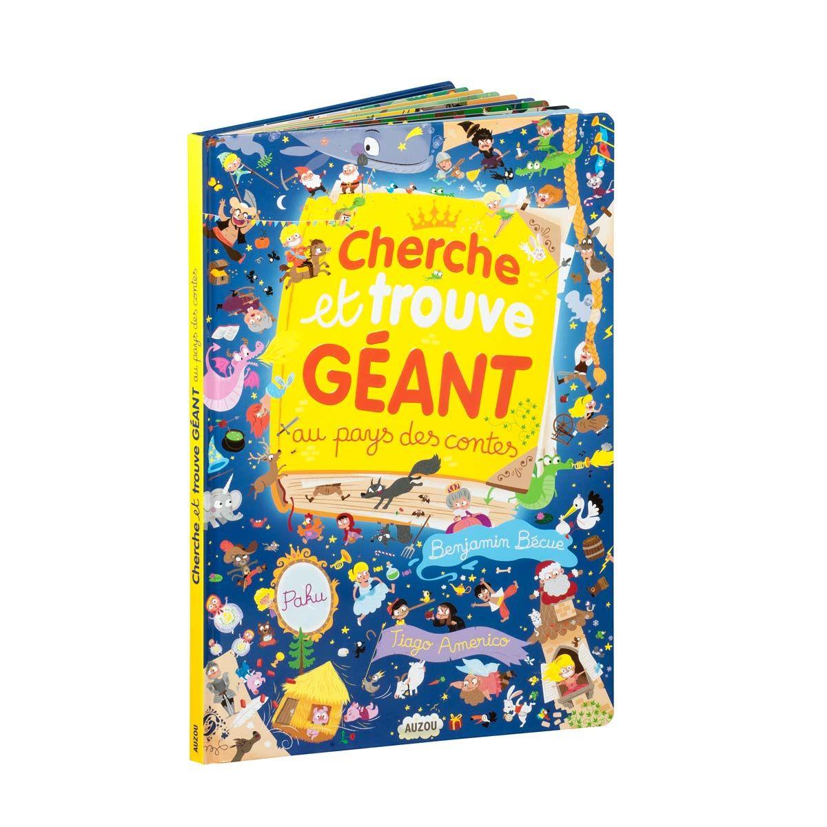 Livre Cherche Et Trouve Geant Au Pays De Contes Les