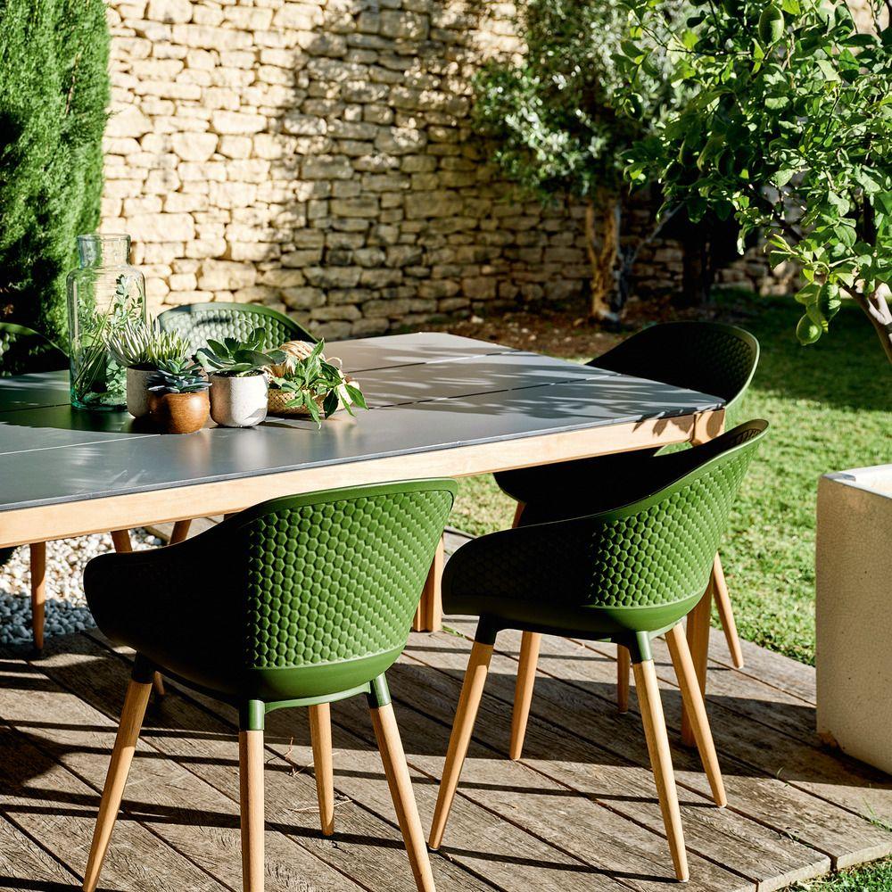 Salon De Jardin Leger douceur durable ce fauteuil de jardin avec un piétement