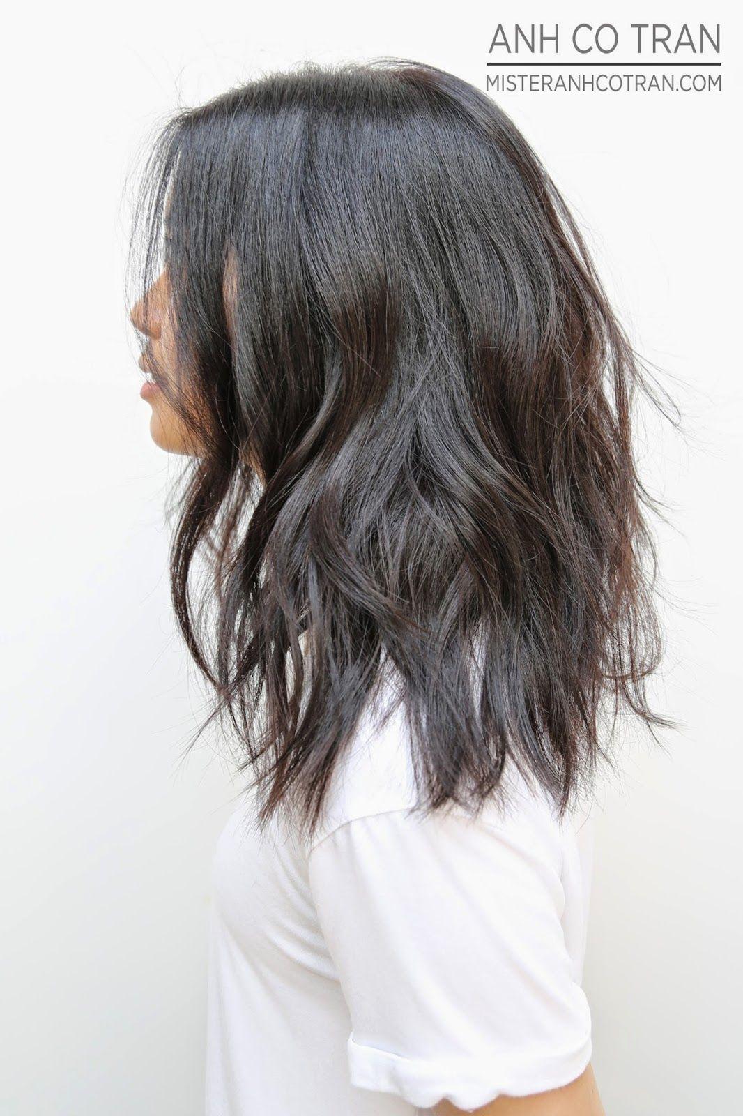 Mister Anhcotran Beautiful Beachy Waves At Ramirez Tran Salon Hair Styles Long Hair Styles Medium Hair Styles