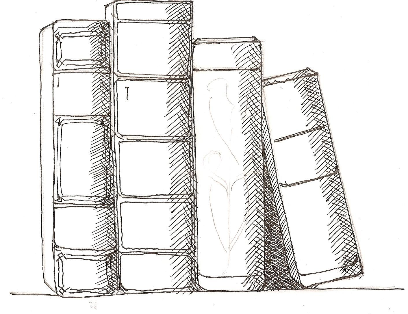 Step By Step Drawing Lesson On How To Draw Book Art