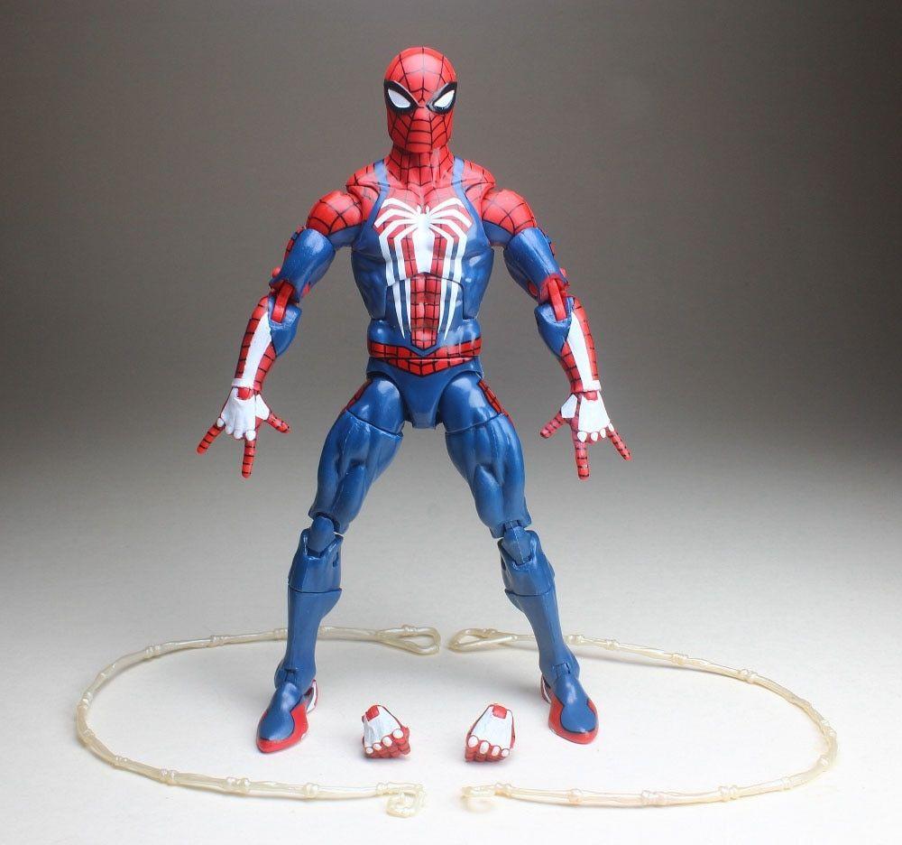 Marvel Legends 2018 IRON SPIDER-MAN FIGURE Loose Thanos Wave Avengers 3 Spider