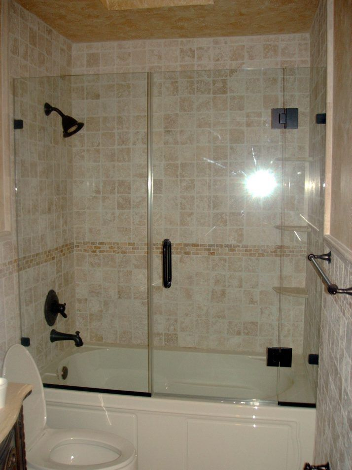 Bathtub Glass Shower Doors 66 Cool Bathroom On Bathroom Glass Shower ...