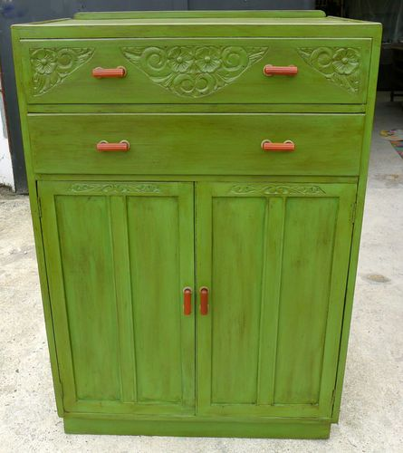 best website 97b22 da8b6 Vintage Painted Tallboy Tall boy Cabinet Cupboard Chest of ...