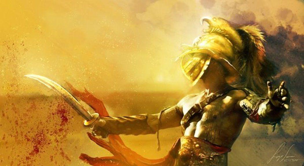 Ezzerdawn The Argonaut Gladiator Dragon Age Rpg Character Art