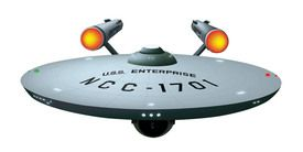 Front View USS Enterprise Wall Graphic