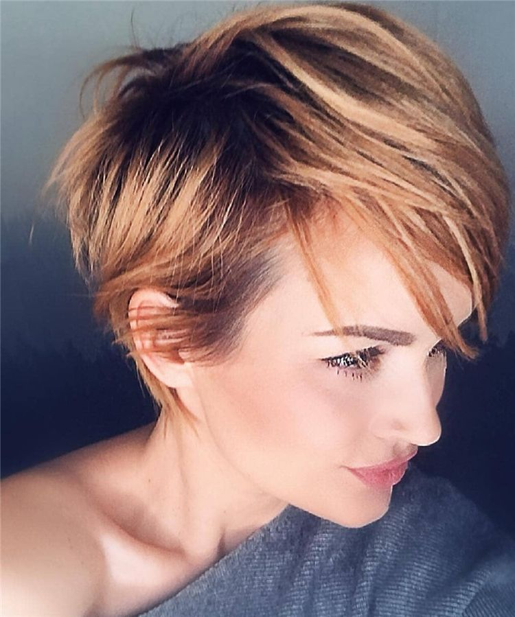 25+ Short Edgy Pixie Cuts and Hairstyles Latest Fashion Trends for Women sumcoco.com #longpixiehaircuts