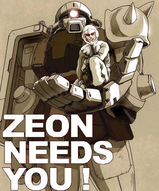 SIEG ZEON! - AR15 COM | Sieg Zeon | Gundam art, Gundam
