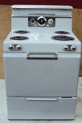 Vintage Frigidaire Electric Range Stove Model Rs 38
