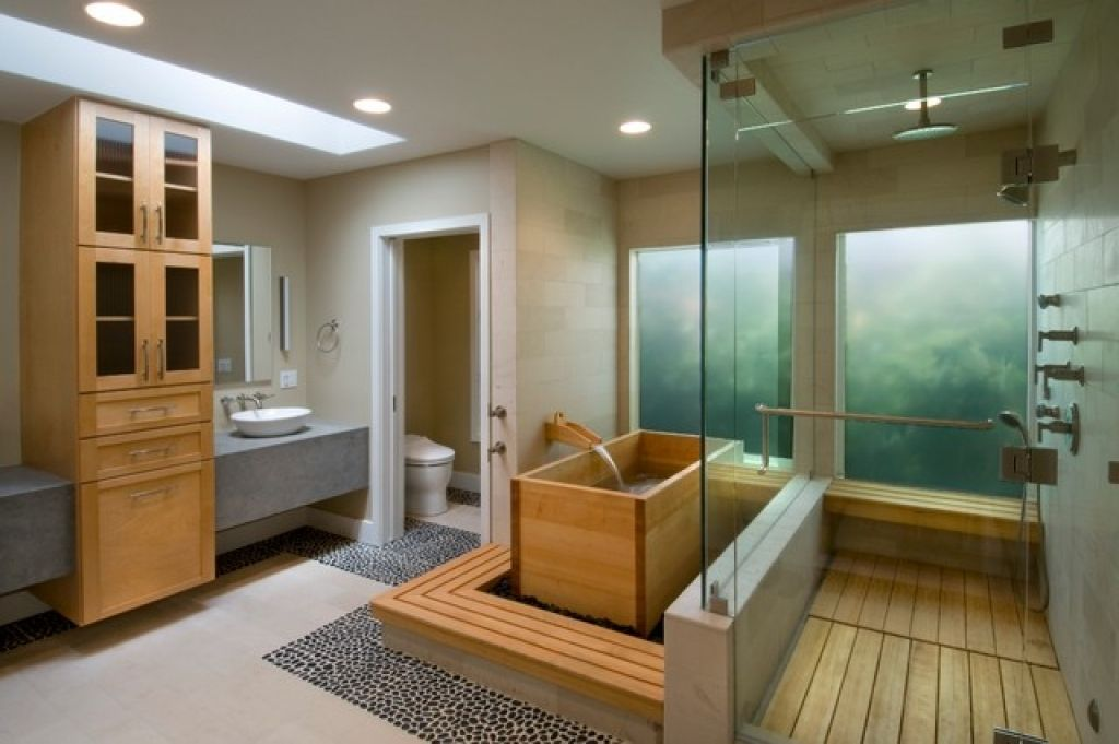 Make Photo Gallery Minimalist and Modern Bathroom Design Ideas for Small Spaces Japanese Small Bathroom Design With Sliding Glass
