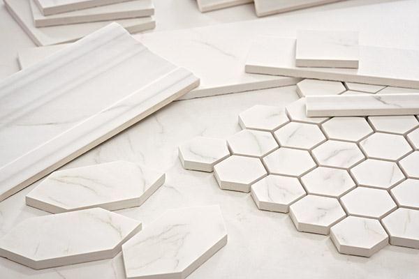 Marble Look Tile Hexagon Tiles