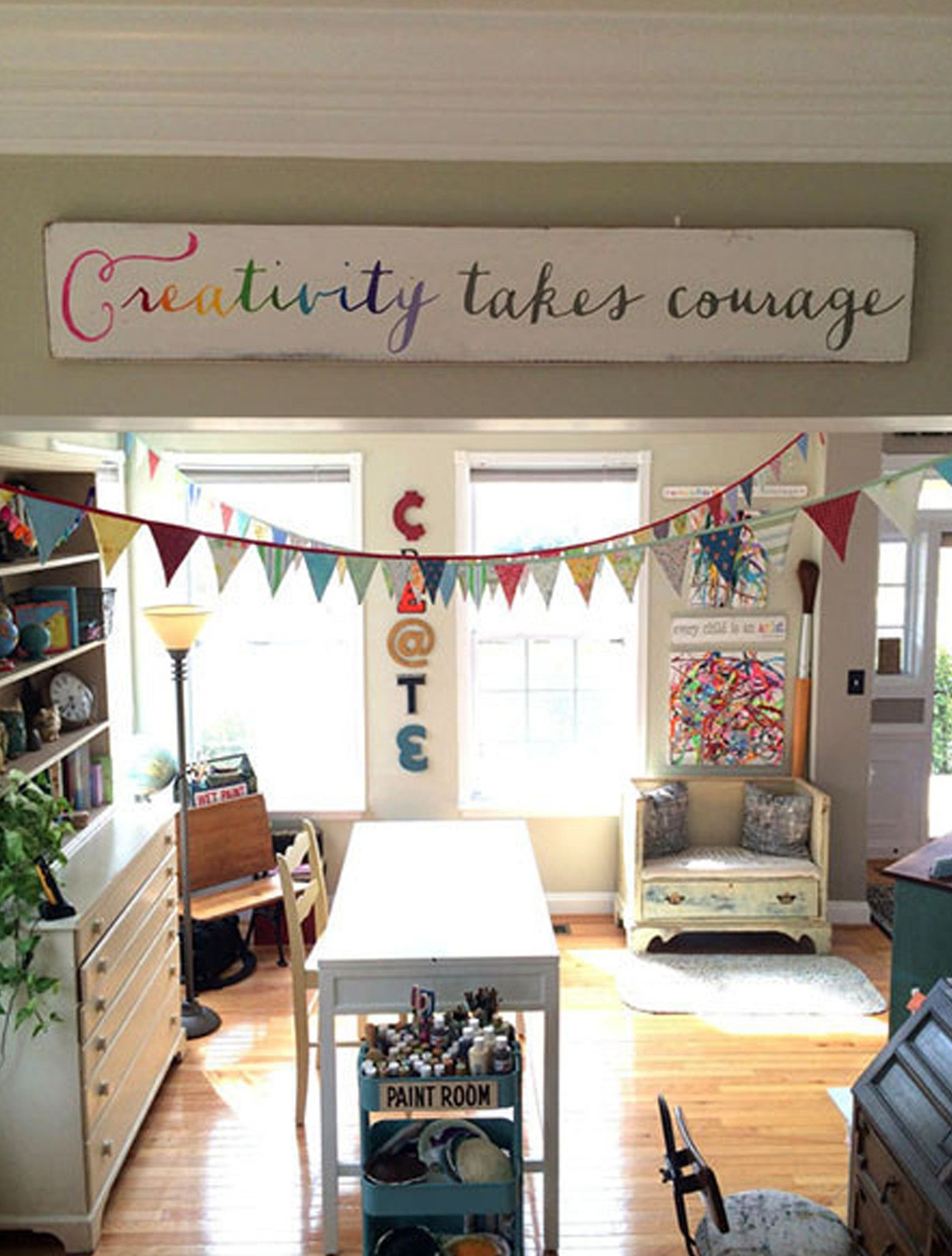 Creativity takes courage in playroom ideas pinterest