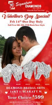 Valentine Day Special Bridal Sets at Signature Diamonds Galleria