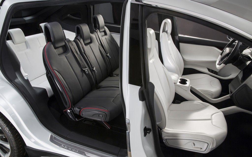 Luxury Vehicle: Tesla Model X - Interior
