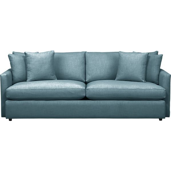 Lounge 93 Sofa In Cornflower Crate And Barrel Can We Find A