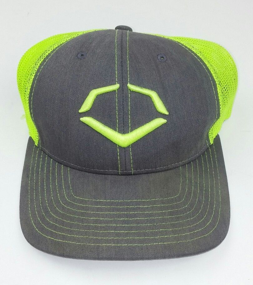 newest 443e9 16ead ... where to buy evoshield fitted hat fluorescent yellow gray fitted  flexfit large mesh sports evoshield baseballcap