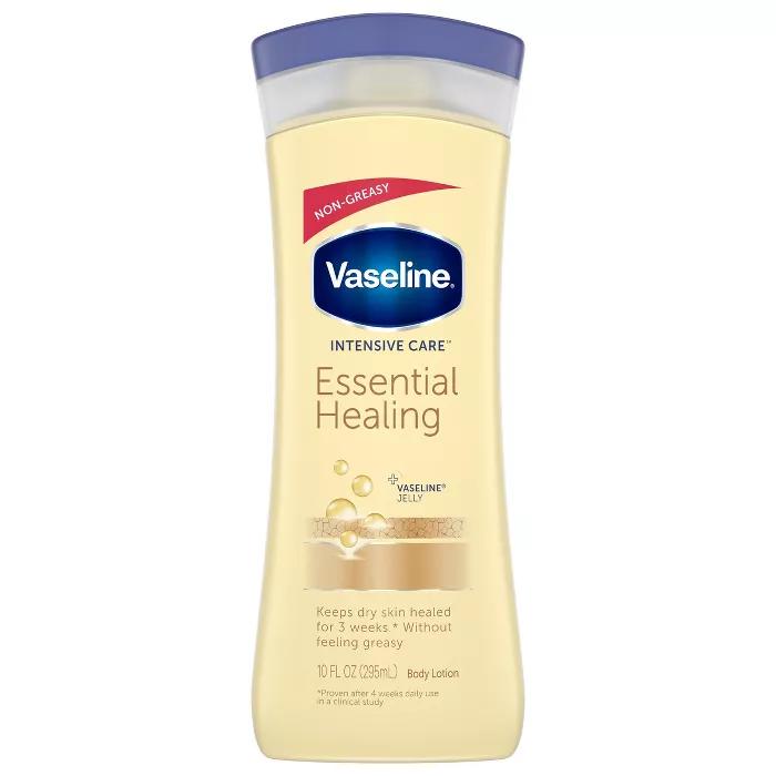 Vaseline Intensive Care Essential Healing Lotion 10oz Healing Dry Skin Healing Lotion Body Lotion Cream