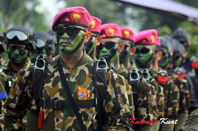 Marinir indonesian navy warriors pinterest the o 39 jays we and the marine - Wallpaper kopaska ...