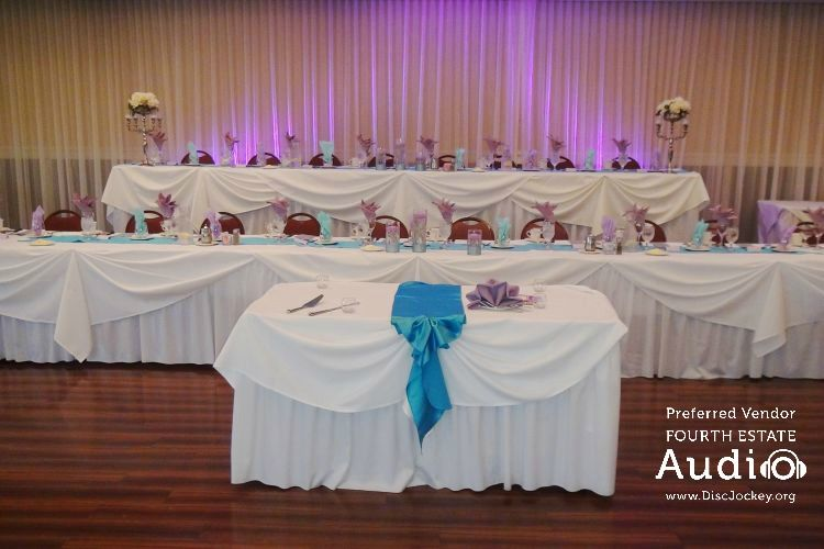 The Bridal Party Table At Chandler S Chop House Schaumburg Golf Club