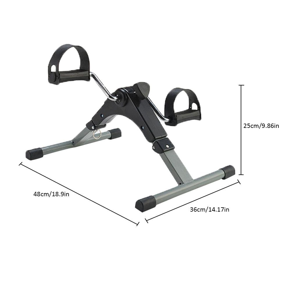 Home Exerciser Fitness Lcd Display Pedal Exercise Indoor Cycling Stepper Mini Exercise Bike Trainer Fitness Equipment Dengan Gambar