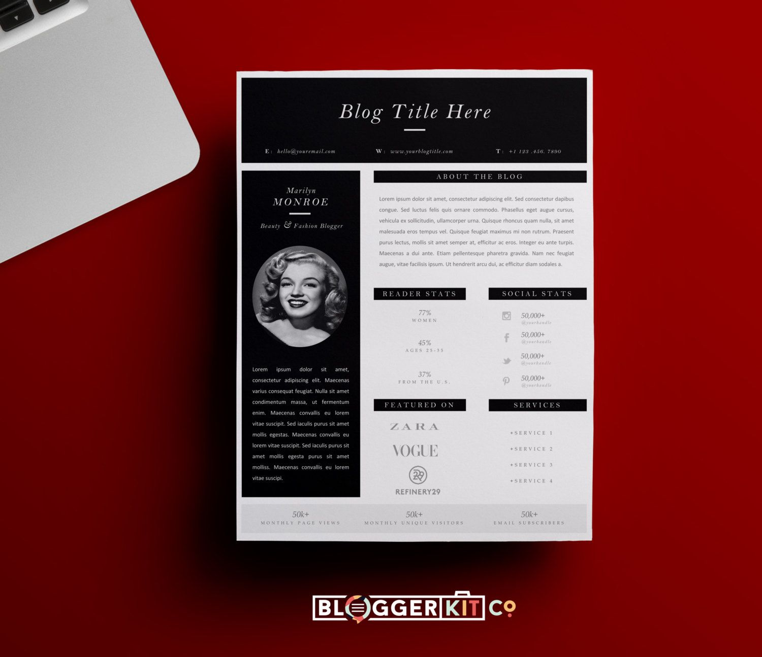 press kit template – Press Kit Template