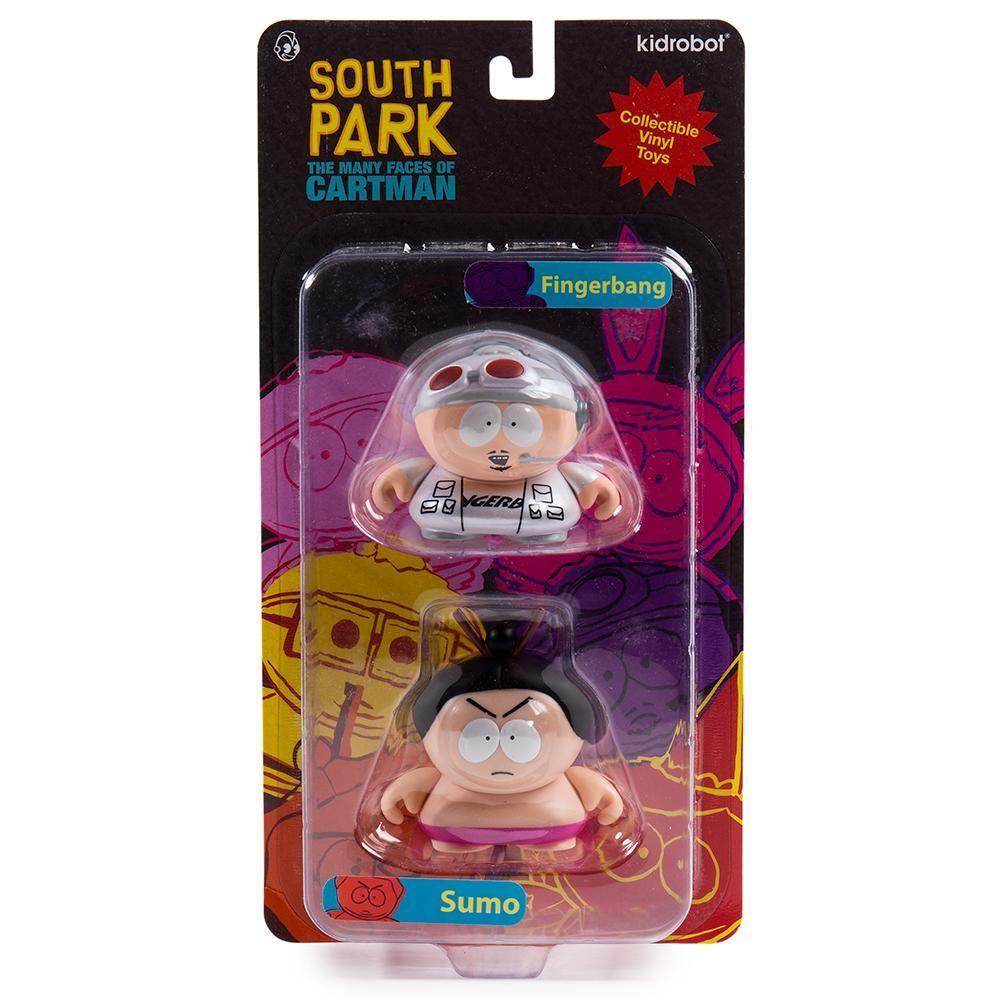 """South Park 2/"""" fingerbang et Sumo Mini Figure Set"""