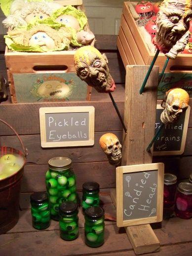 Great idea for a Halloween display Halloween Party  Decor - halloween party ideas for adults decorations