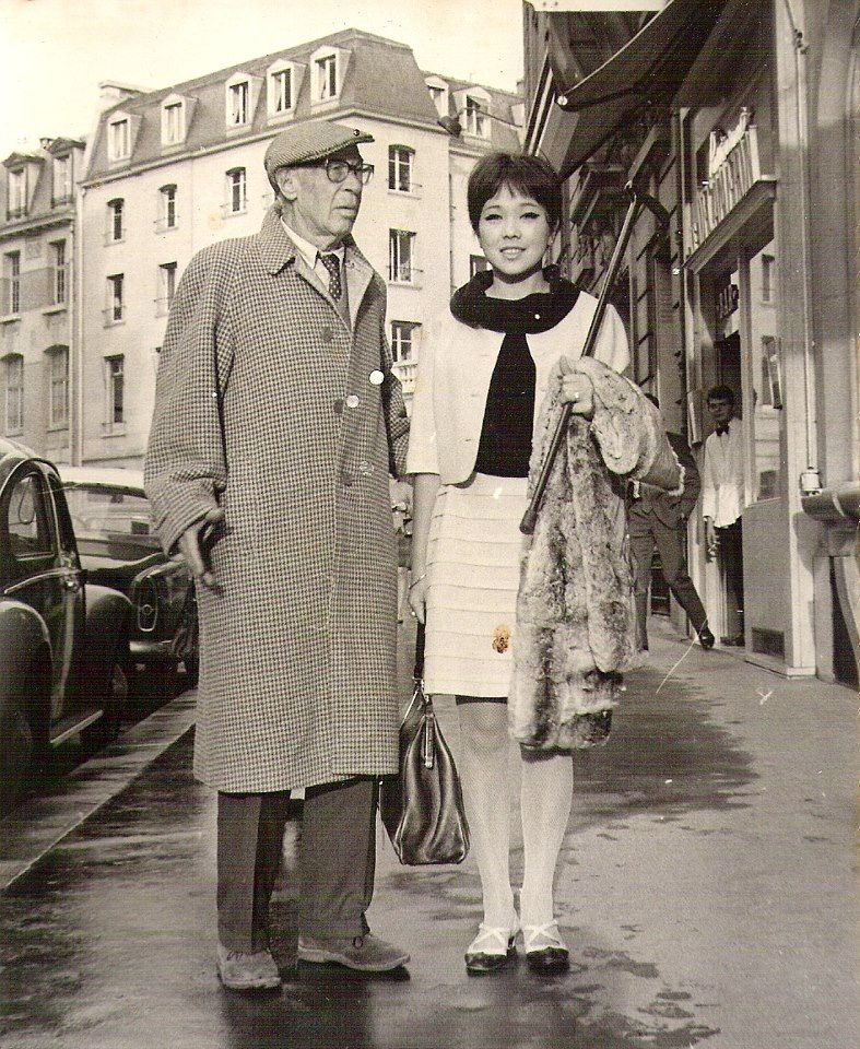 henry miller et hoki tokuda en voyage de noces paris le. Black Bedroom Furniture Sets. Home Design Ideas